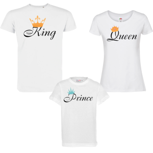 Семеен комплект - King, Queen and Prince